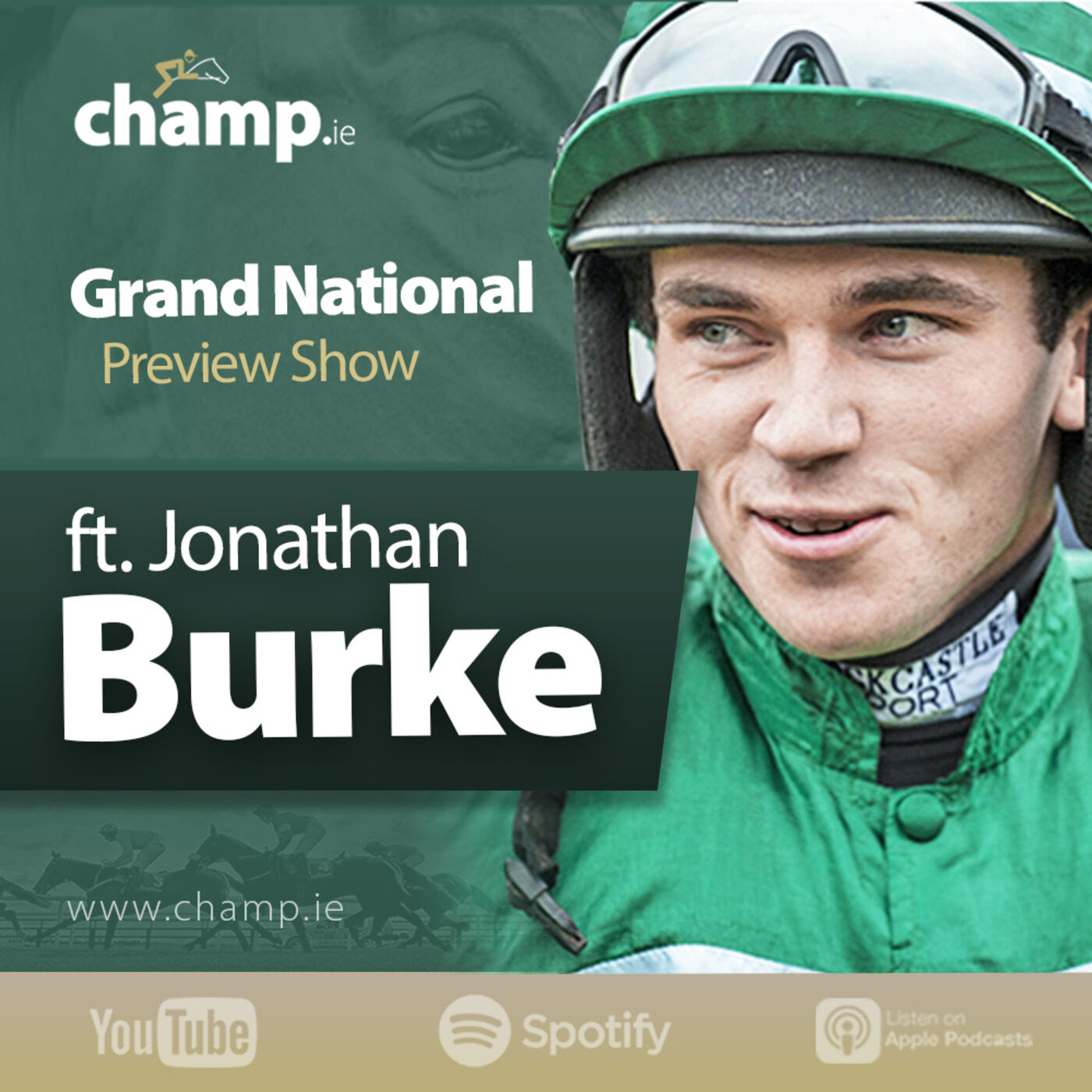 Aintree Grand National 2021 Preview Show Ft. Jockey Jonathan Burke | Horse Racing | Podcast ?