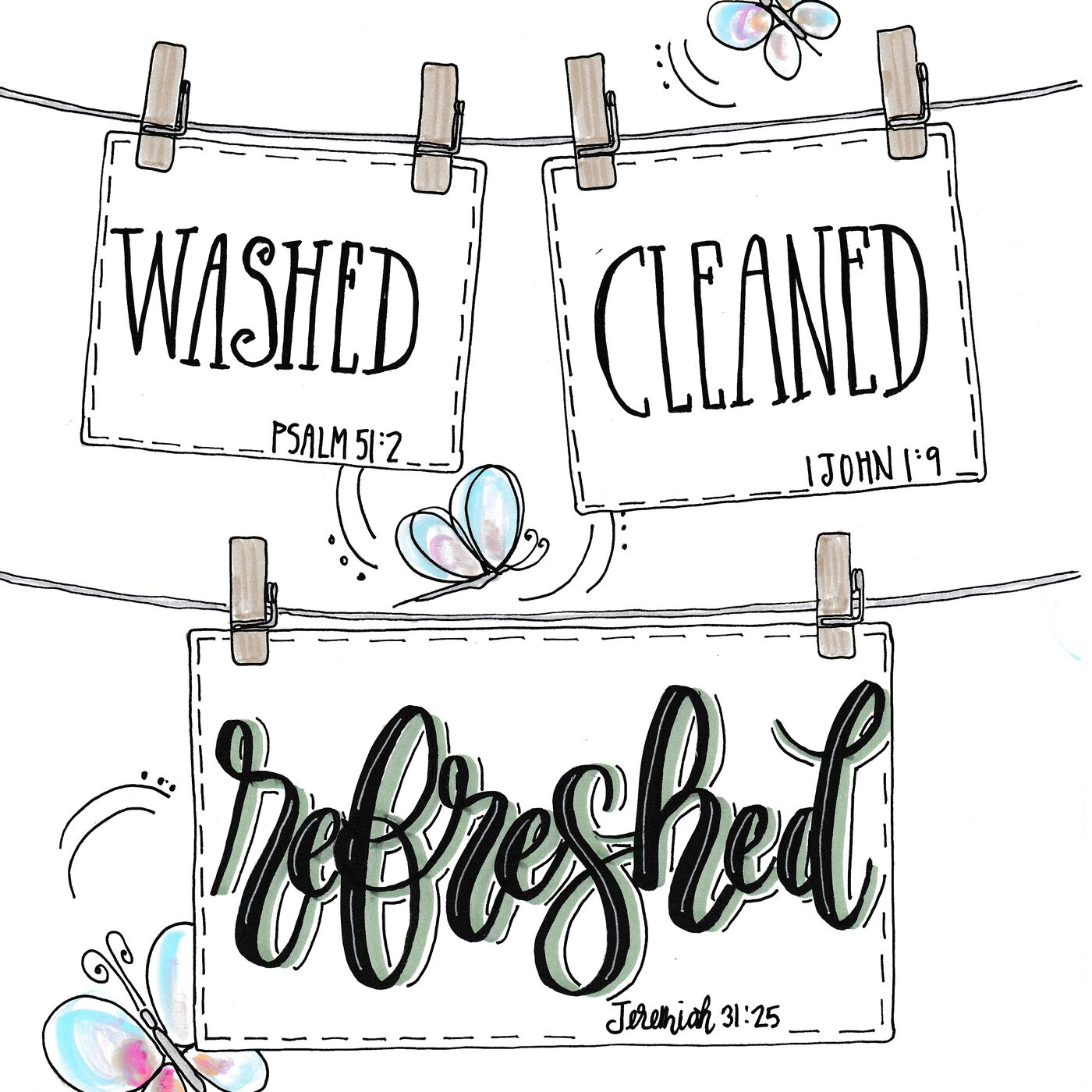 """LASF: 017 Washed. Cleaned. Refreshed! """"Chapel Time"""" Series, Week 1 - Let's allow the Lord to wash and clean us!"""