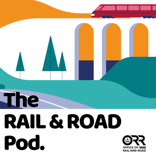 Rail and Road Pod Podcast Artwork Image