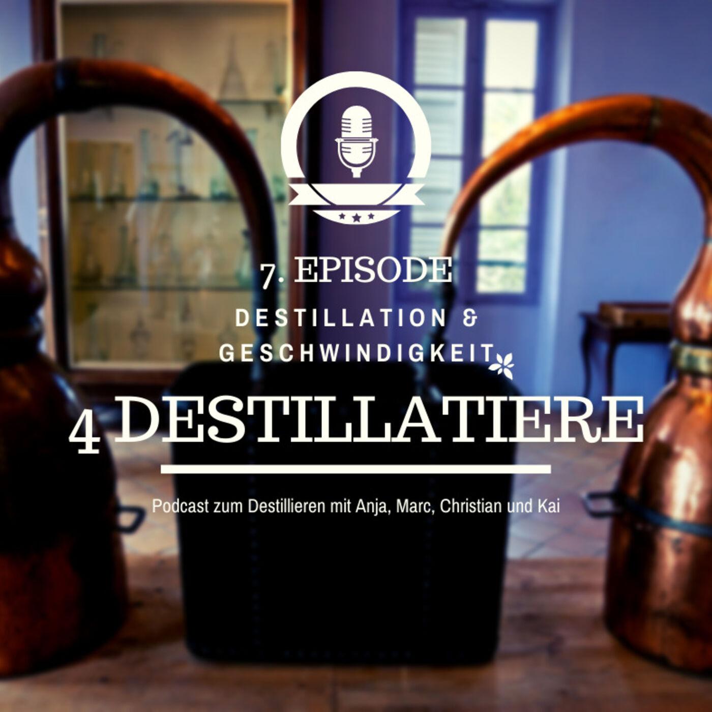 4D 007: Destillationsgeschwindigkeit