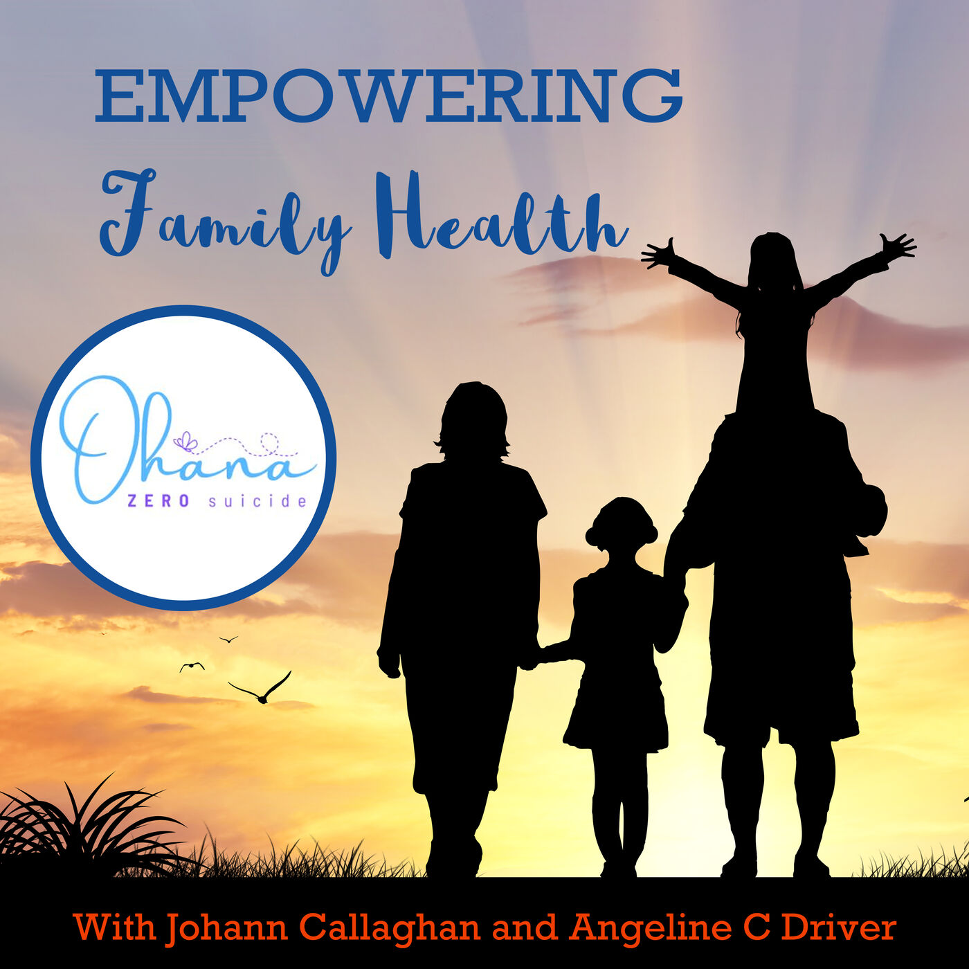 Ep#36 Preventing Suicide with Ohana.ie and Angeline Collins Driver
