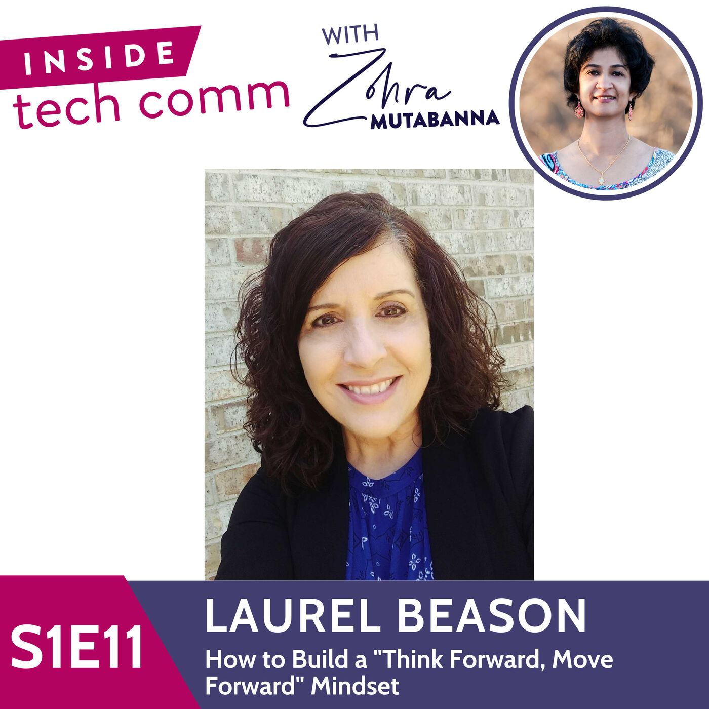 """S1E11 How to Build a """"Think Forward, Move Forward"""" Mindset with Laurel Beason"""