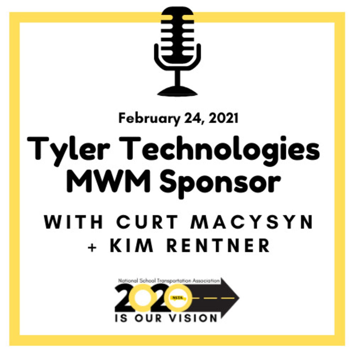 Tyler Technologies MWM Sponsor: Kim Rentner, Industry Engagement Consultant