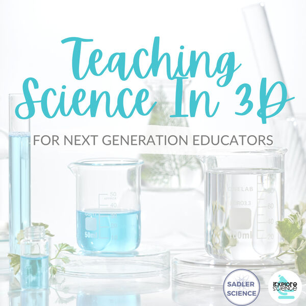 Teaching Science In 3D Podcast Artwork Image