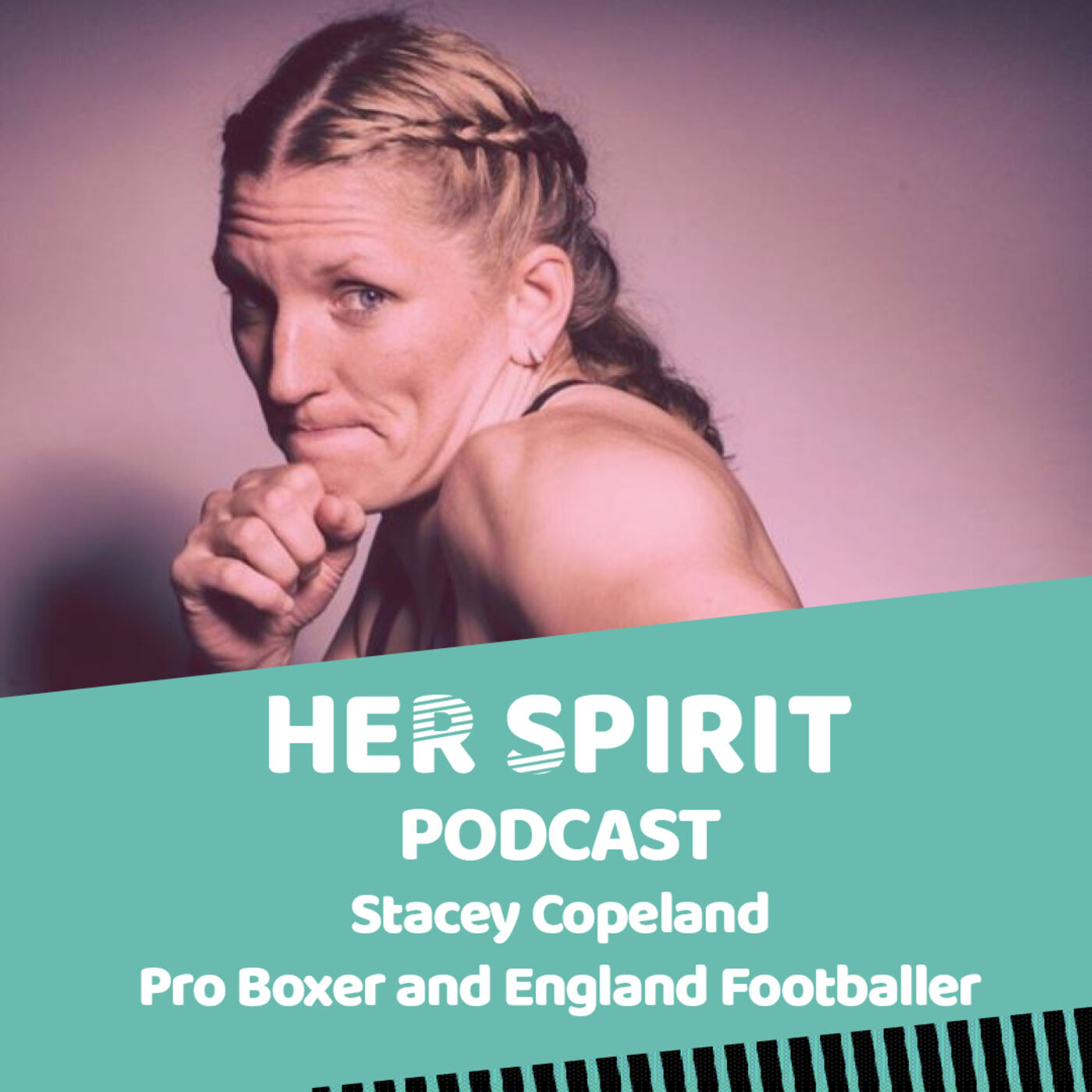 Professional boxer and England Footballer Stacey Copeland talk to Louise and Annie about her love of sport and her passion for gender equality for all