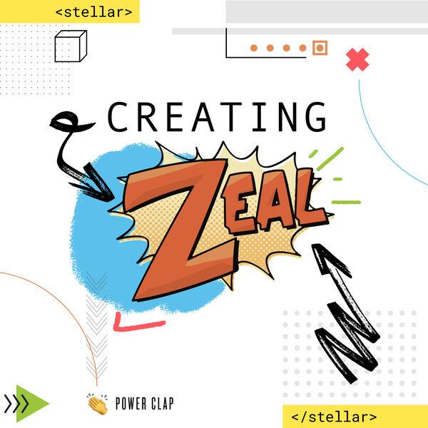 Creating Zeal Podcast Podcast Artwork Image