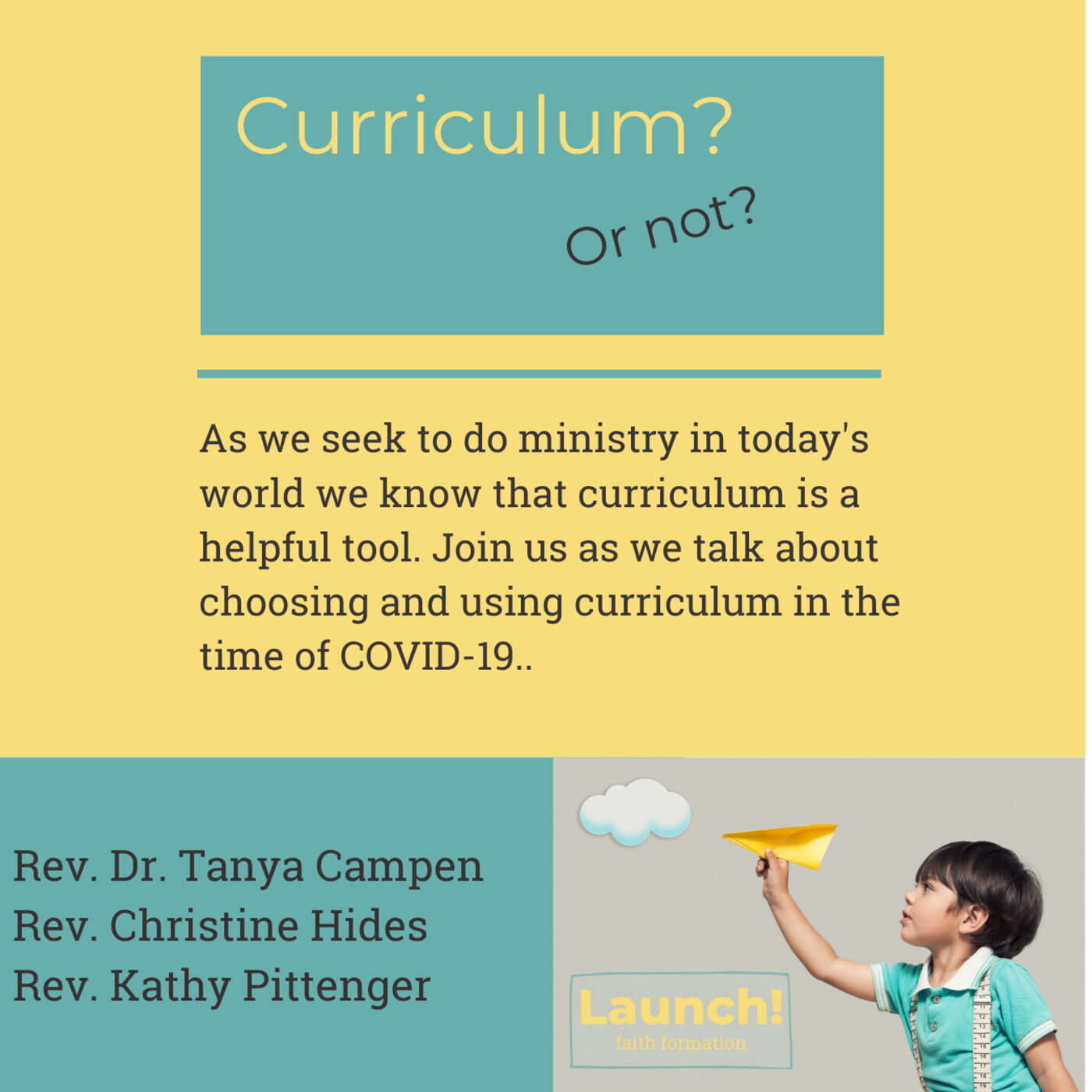 Curriculum, or not?