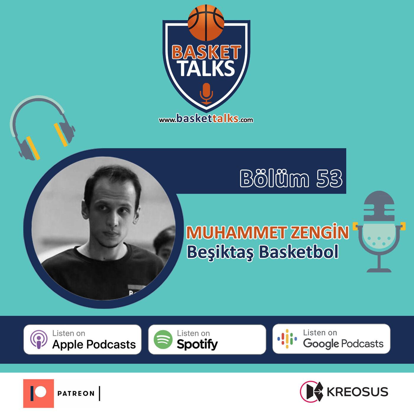 53 / Muhammet Zengin - Beşiktaş Basketbol
