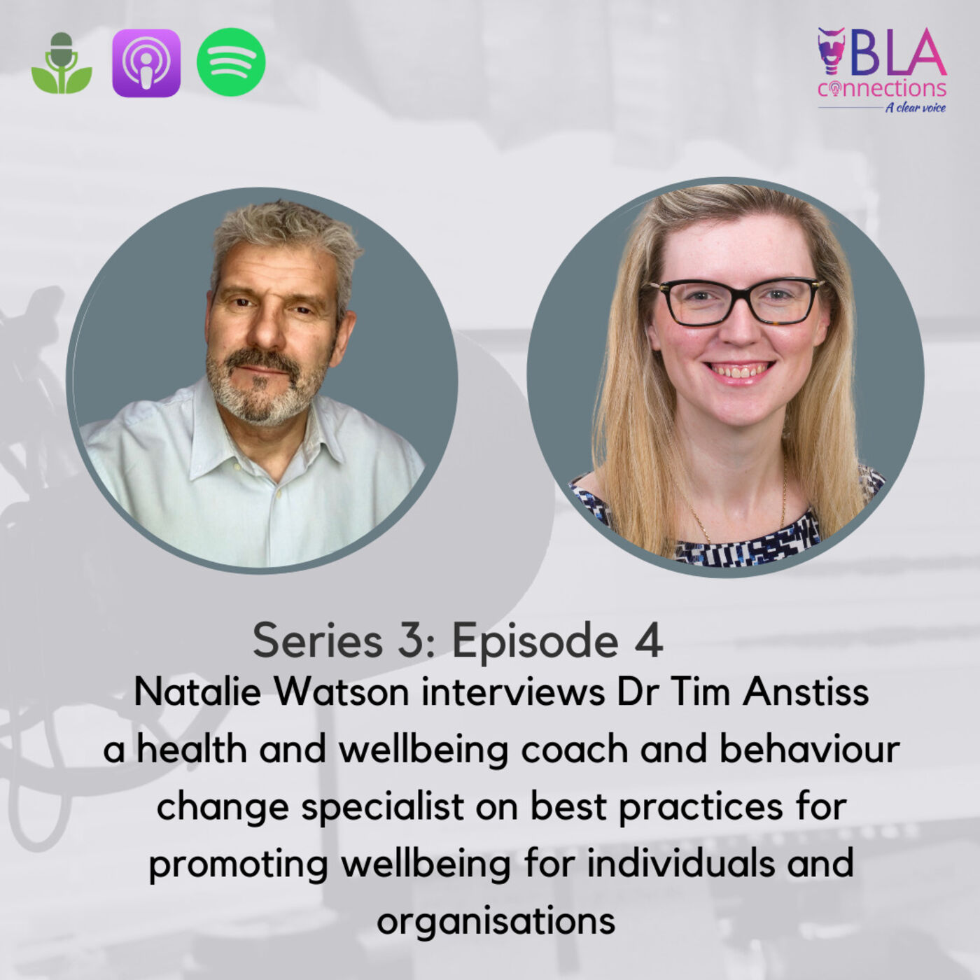 S3 Ep 4: Wellbeing Part 2 with Dr Tim Anstiss