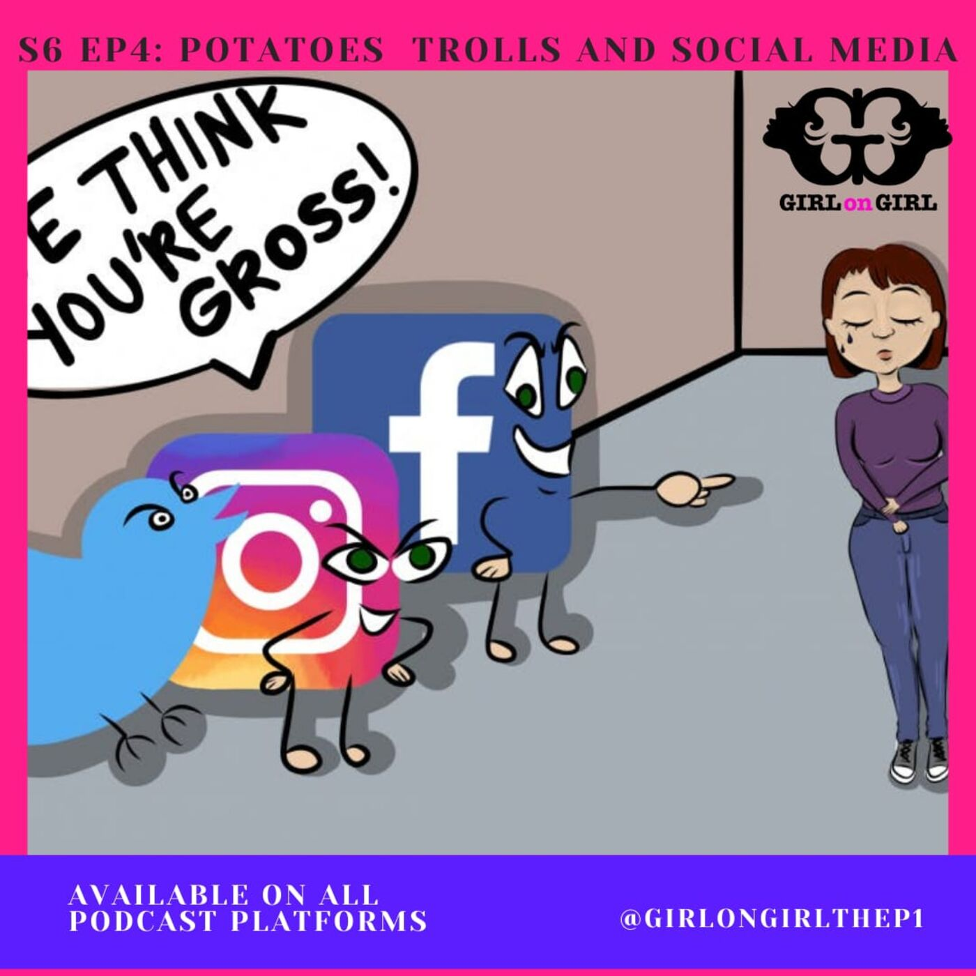 S6 Ep4: Potatoes, Trolls and Social Media...