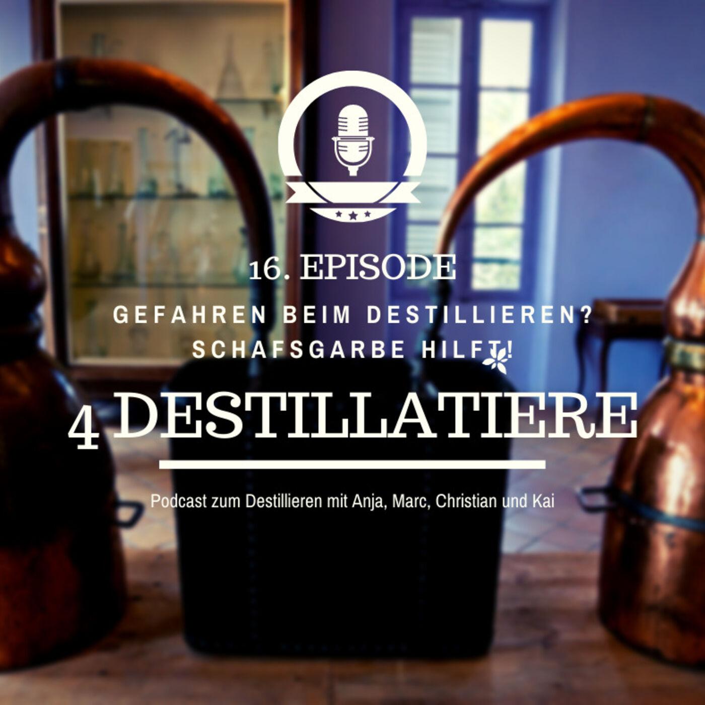 4D 016: Gefährliches Destillieren. Schafgarbe hilft