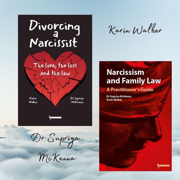 Narcissists in divorce – the lure, the loss and the law. Podcast Artwork Image