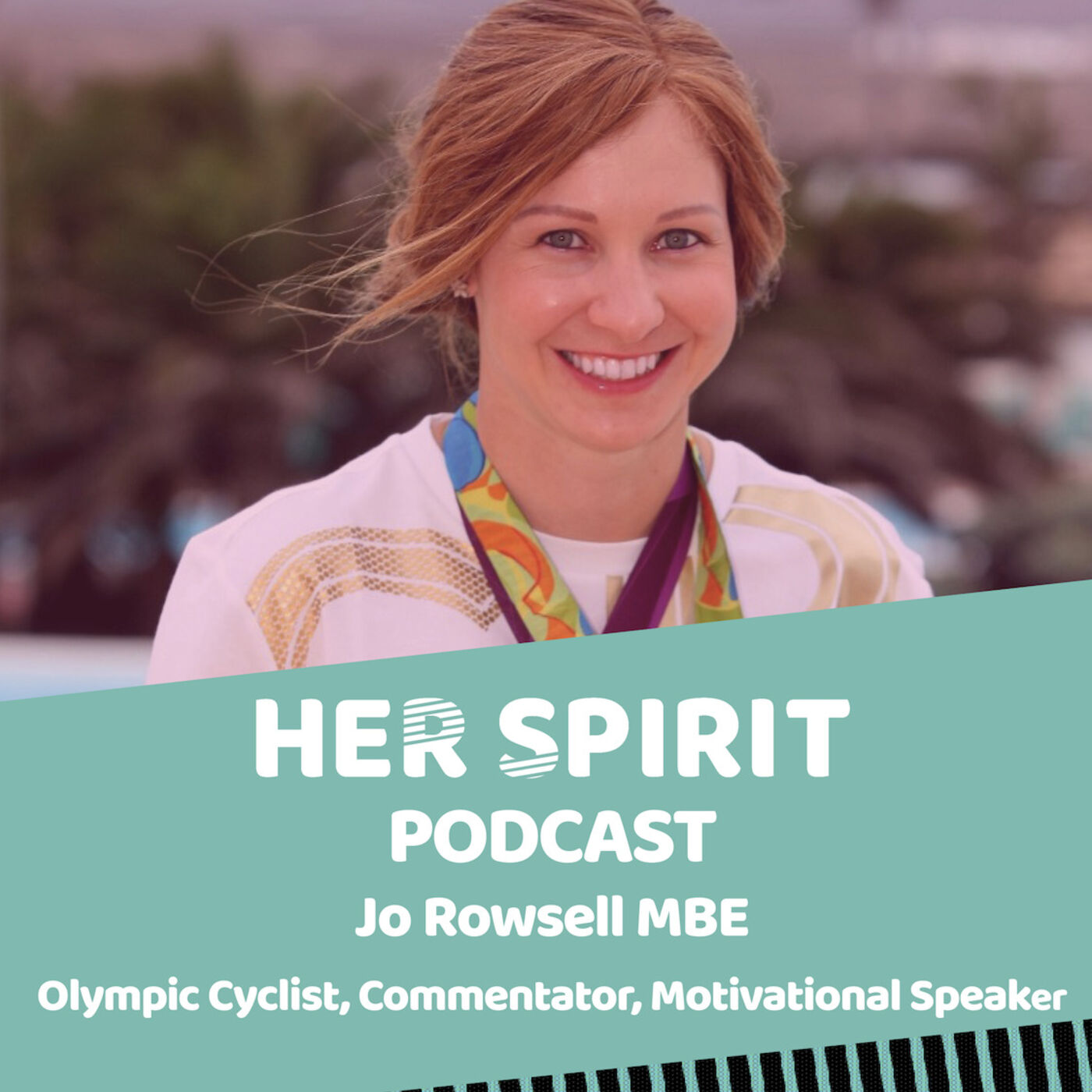 "Olympic cycling champion Jo Rowsell talks to Louise and Annie about her journey into cycling, over coming nerves and ""exercising your chimp"" and growing up with alopecia. She gives some great tips for being active and motivating yourself and others"