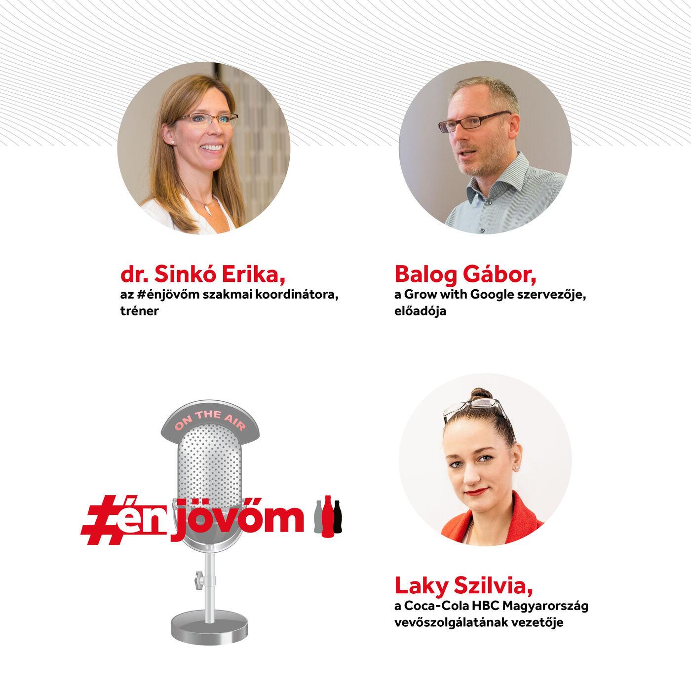 #énjövőm podcast - vendégeink: dr. Sinkó Erika, Laky Szilvia és Balog Gábor