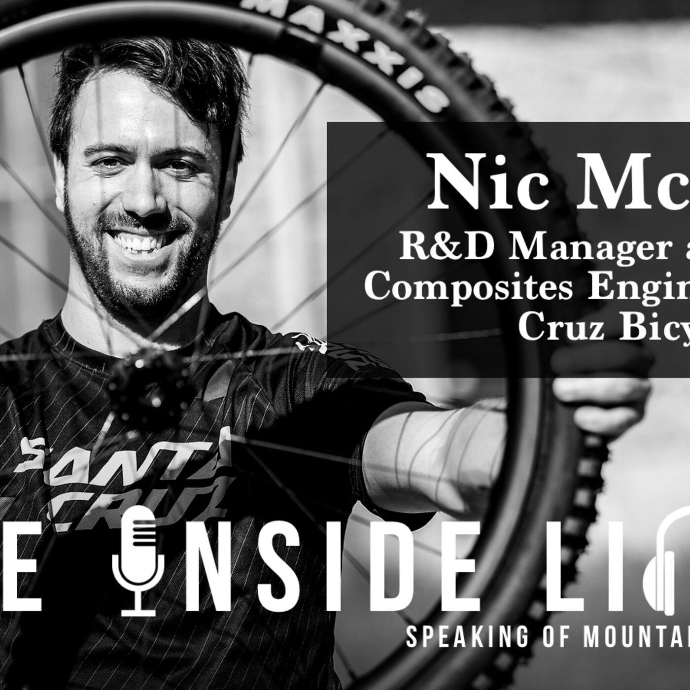Santa Cruz Bicycles Engineer, Nic McCrae - The Inside Line