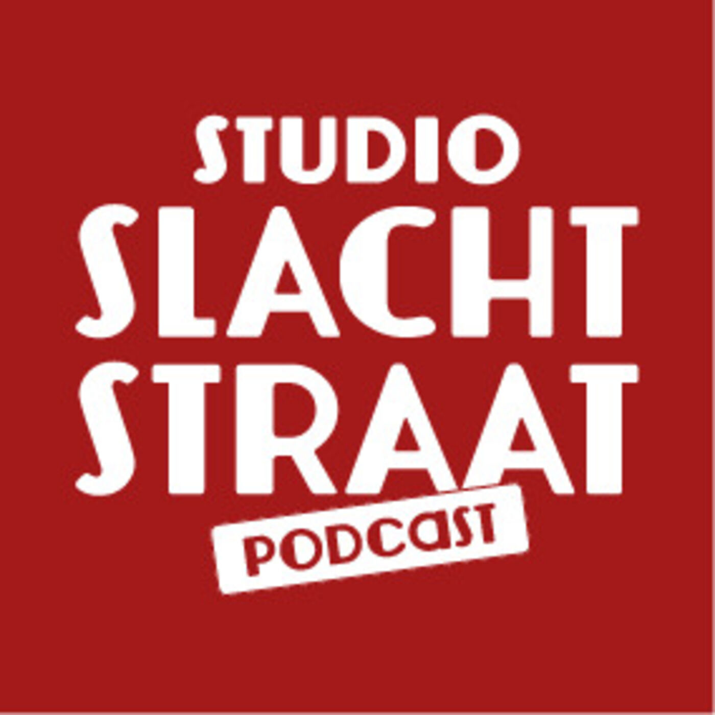 Studio Slachtstraat Podcast logo