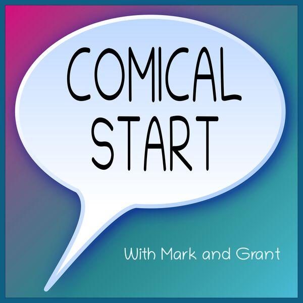 Comical Start Podcast Artwork Image