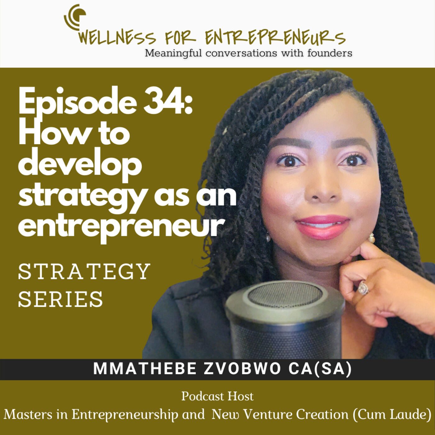 Episode 34: How to develop Strategy as an Entrepreneur