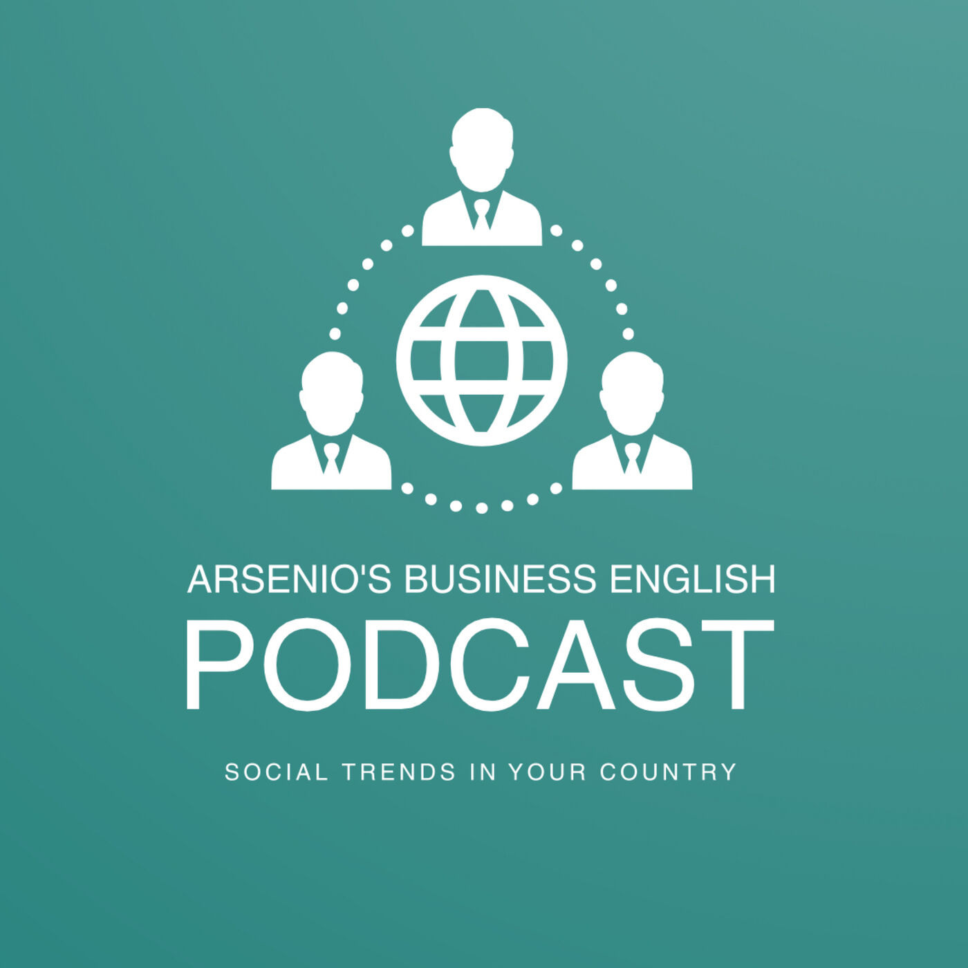 Arsenio's Business English Podcast | Season 6: Episode 29 | Social Trends in Your Country