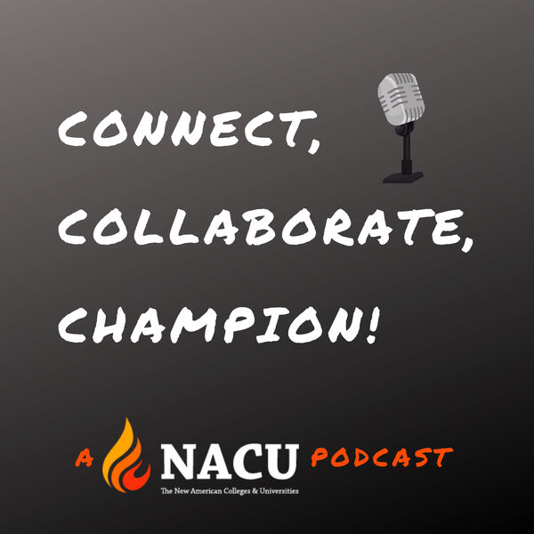 Connect, Collaborate, Champion! Podcast Artwork Image