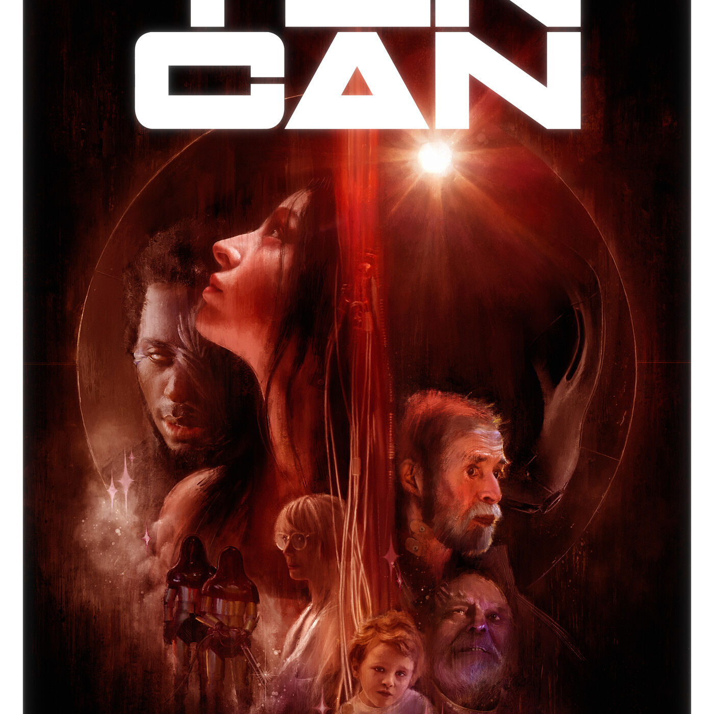 Episode 45: Tin Can with Seth A. Smith and Nancy Urich.