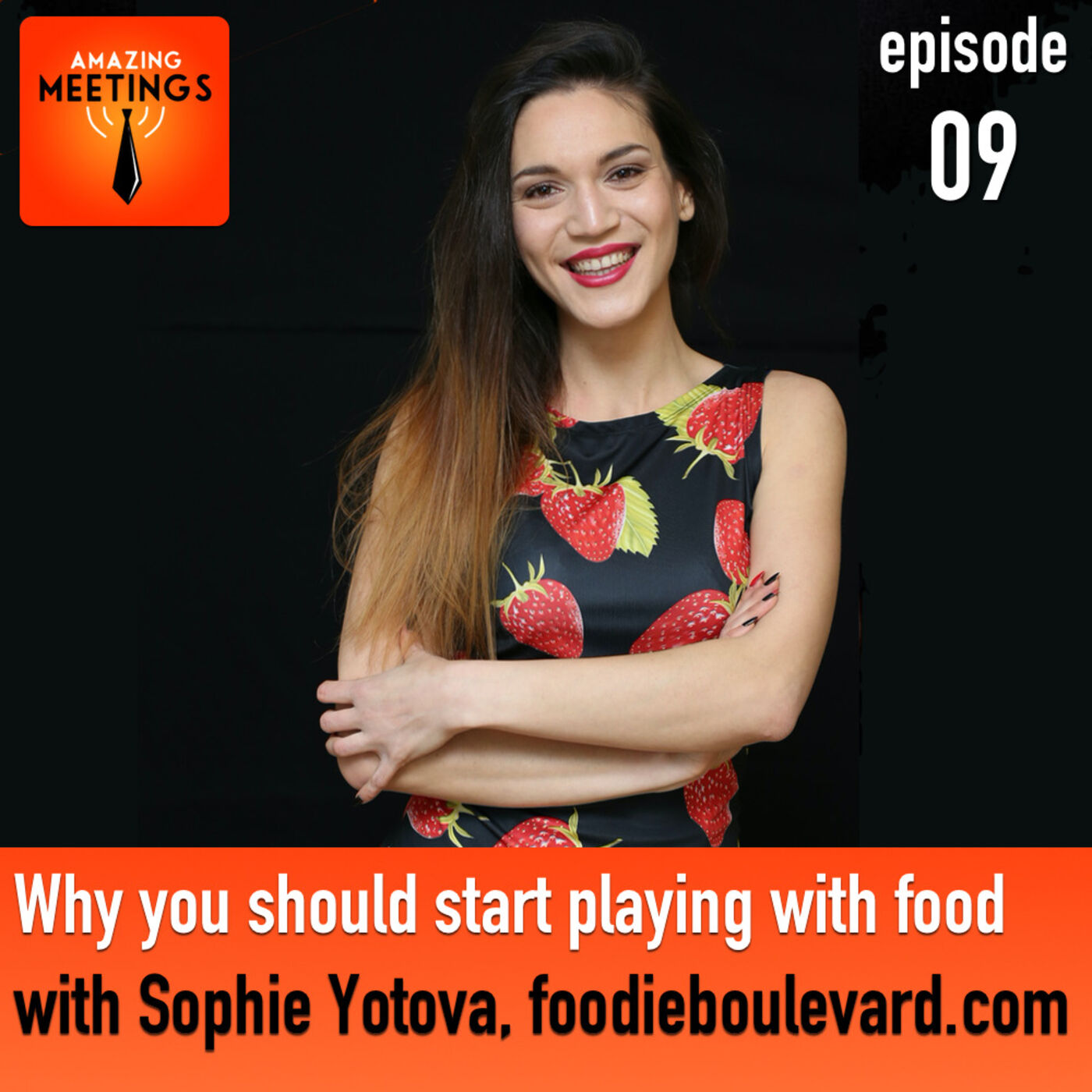 Why you should start playing with your food with Sophie Yotova