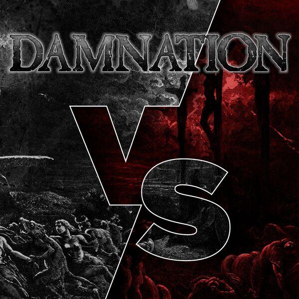 Damnation Versus Podcast Artwork Image
