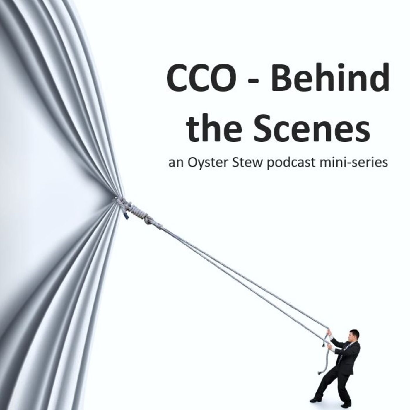 New Mini-Series!  CCO - Behind the Scenes