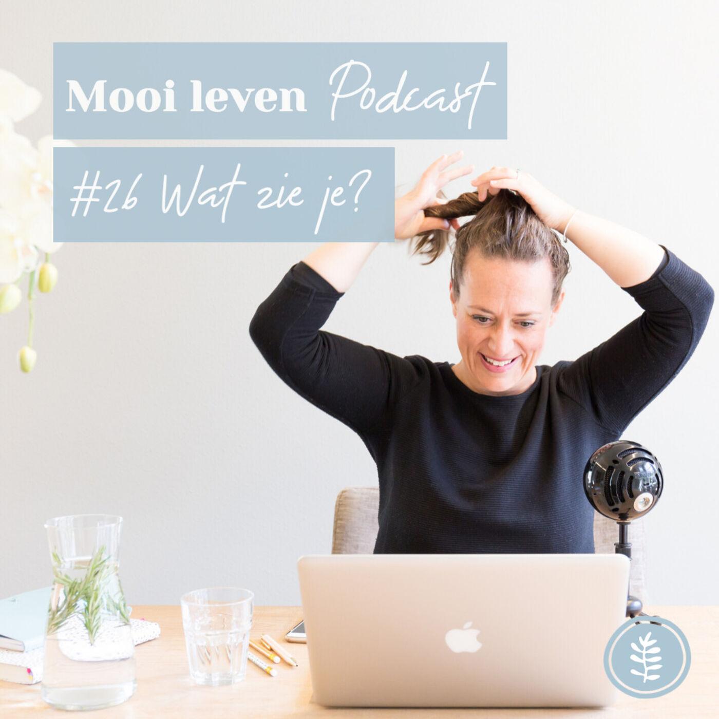 Mooi Leven Podcast #26 | Wat zie je?