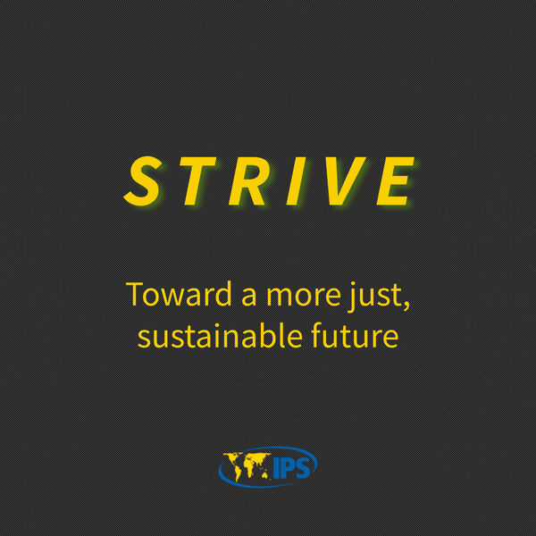 Strive: Toward a more just, sustainable future Podcast Artwork Image
