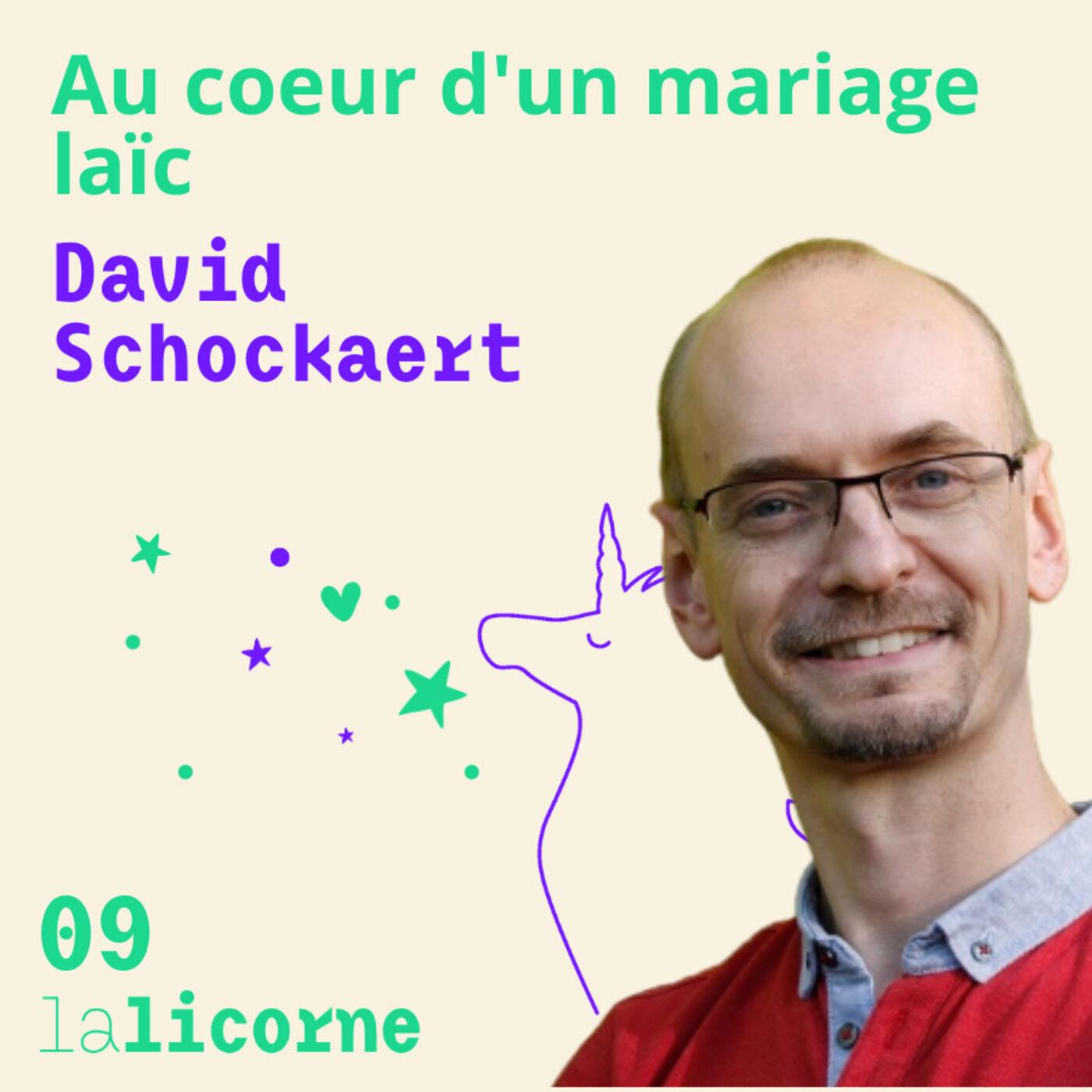 Episode n°9 💍 David Schockaert - Au cœur d'un mariage laïc