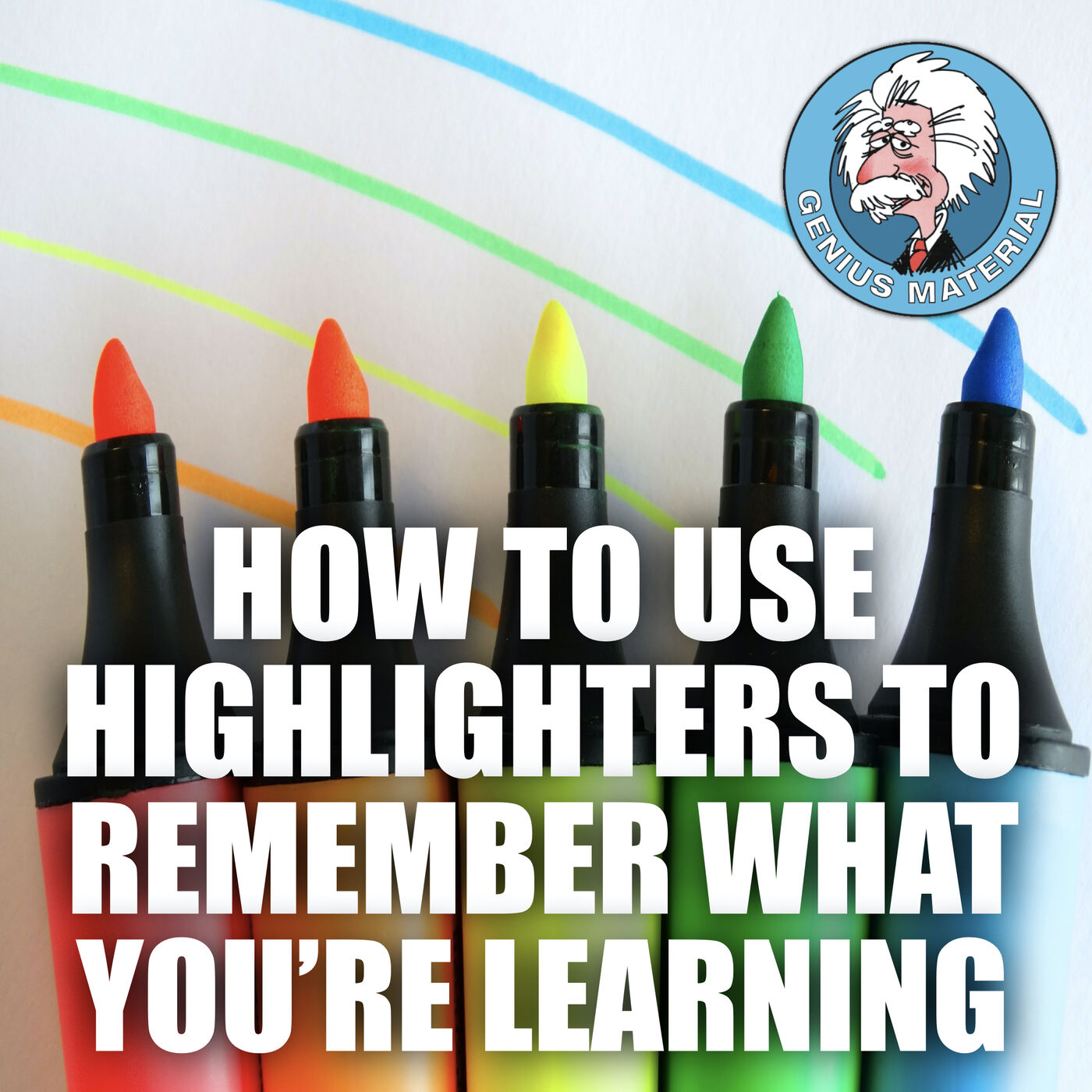 How to use highlighters to remember what you're learning