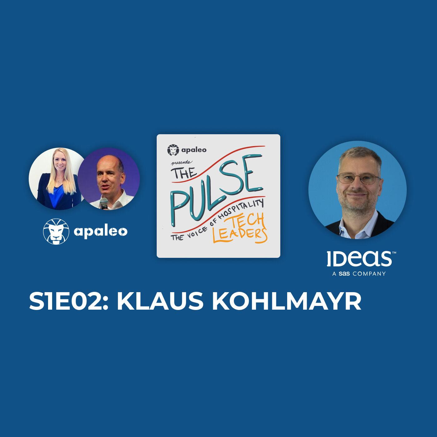 """The Future of Revenue Management"" IDeaS' Klaus Kohlmayr"