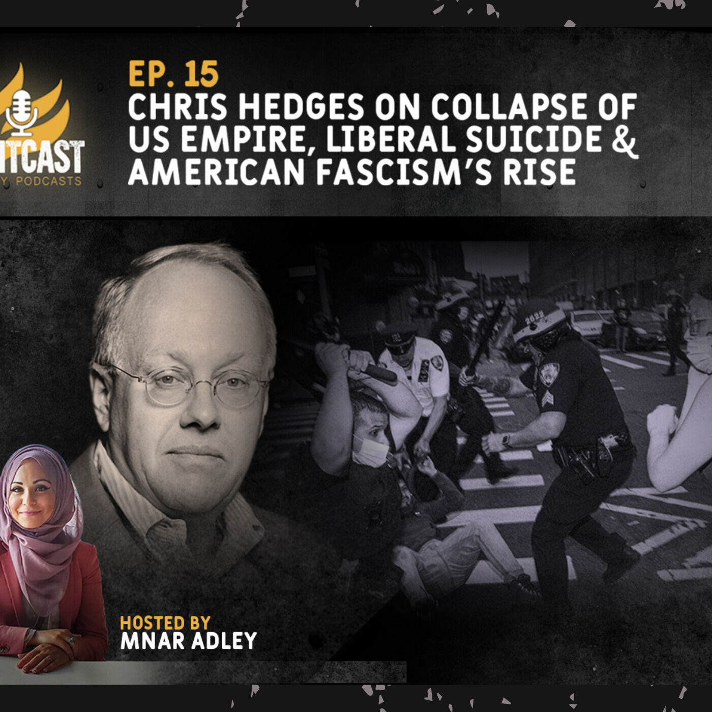 Podcast: Chris Hedges on the Collapse of US Empire, Liberal Suicide and the Rise of Christian Fascism