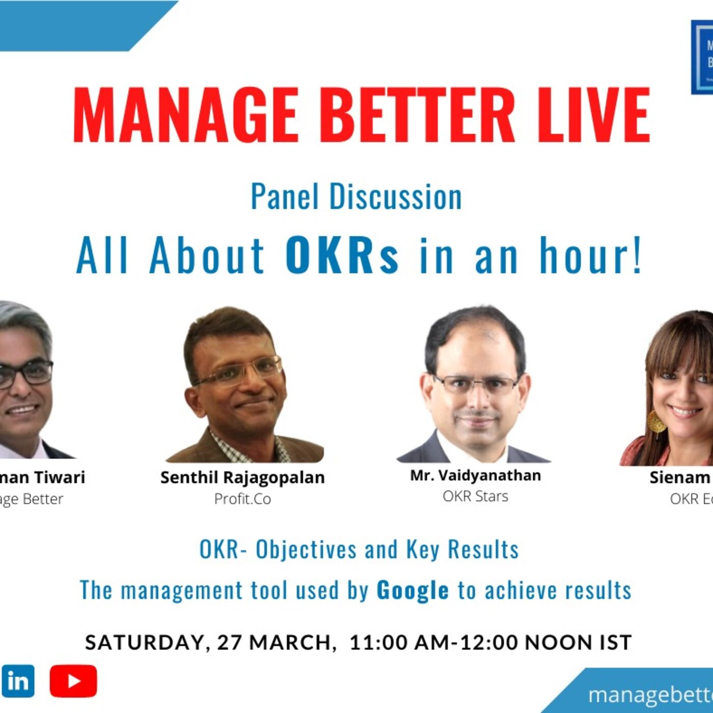 All about OKRs with Manage Better