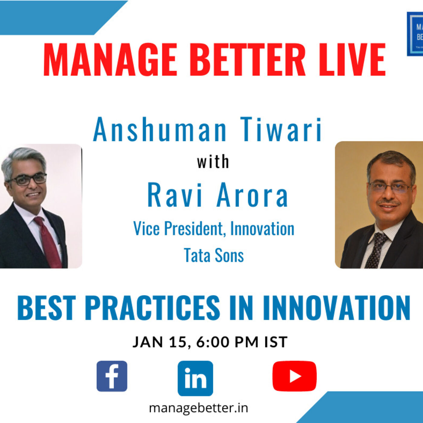 Innovation in the Tata Group - A chat with Ravi Arora