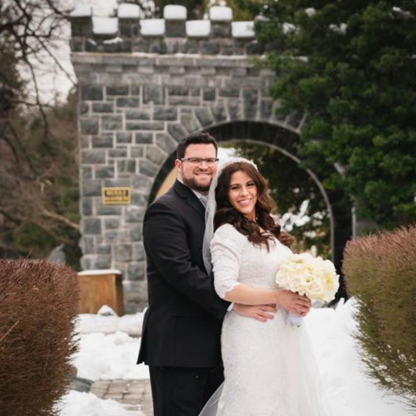 "Alana and Meir Popowitz - A ""Last Minute"" Winter Wonderland Wedding"