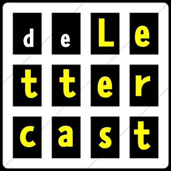 De Lettercast Podcast Artwork Image