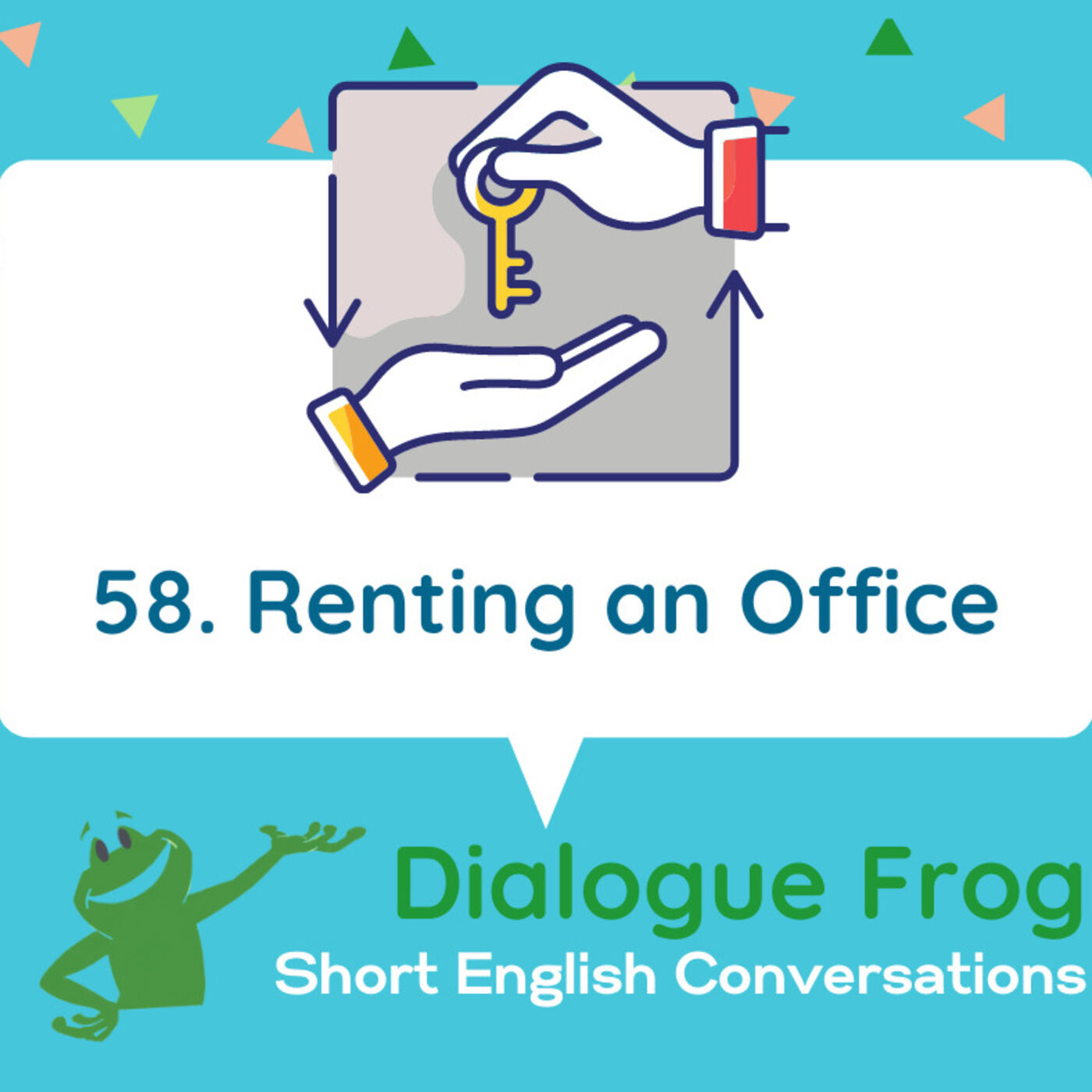 058 Renting an Office – English Dialog