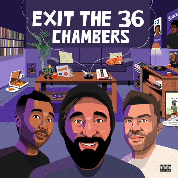 Exit the 36 Chambers Podcast Podcast Artwork Image
