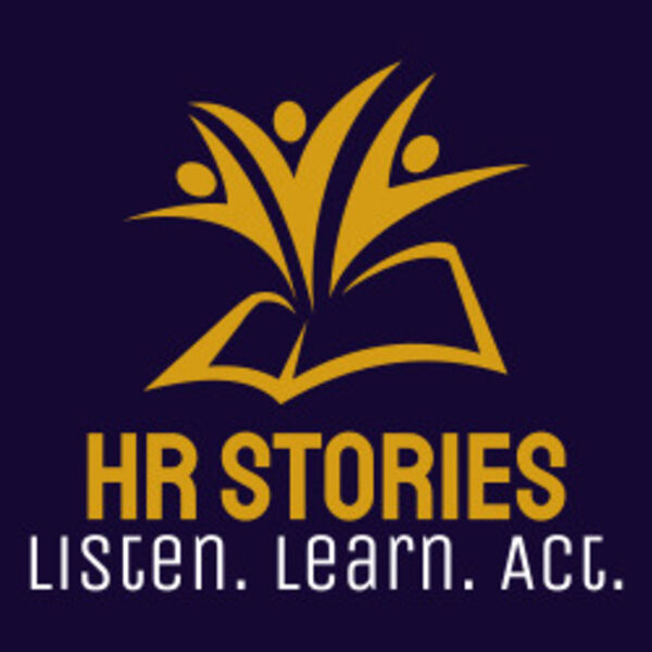 HR Stories Podcast - where the Lesson is in the Story Podcast Artwork Image