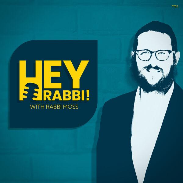 Hey Rabbi Podcast Artwork Image