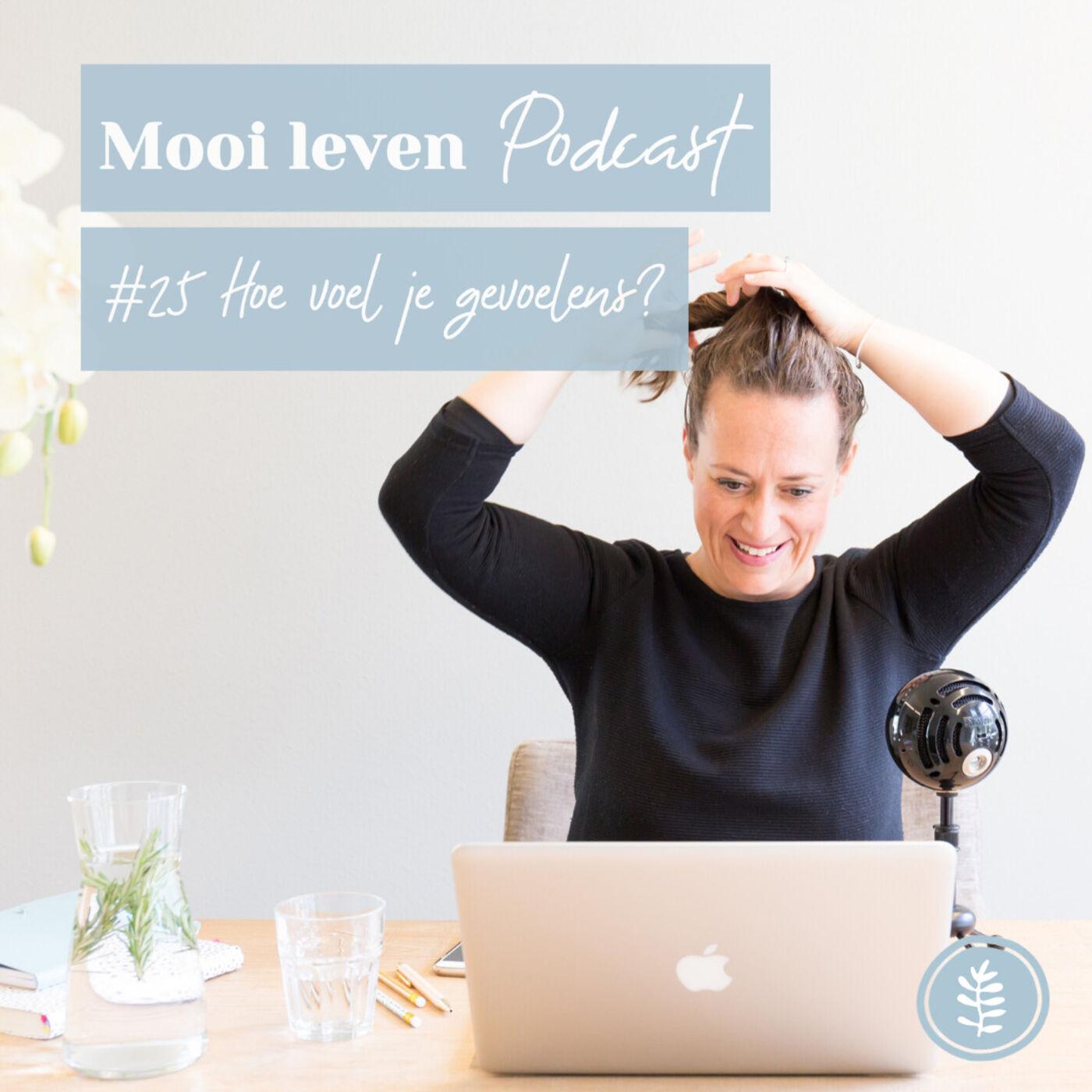 Mooi Leven Podcast #25 | Hoe voel je gevoelens?
