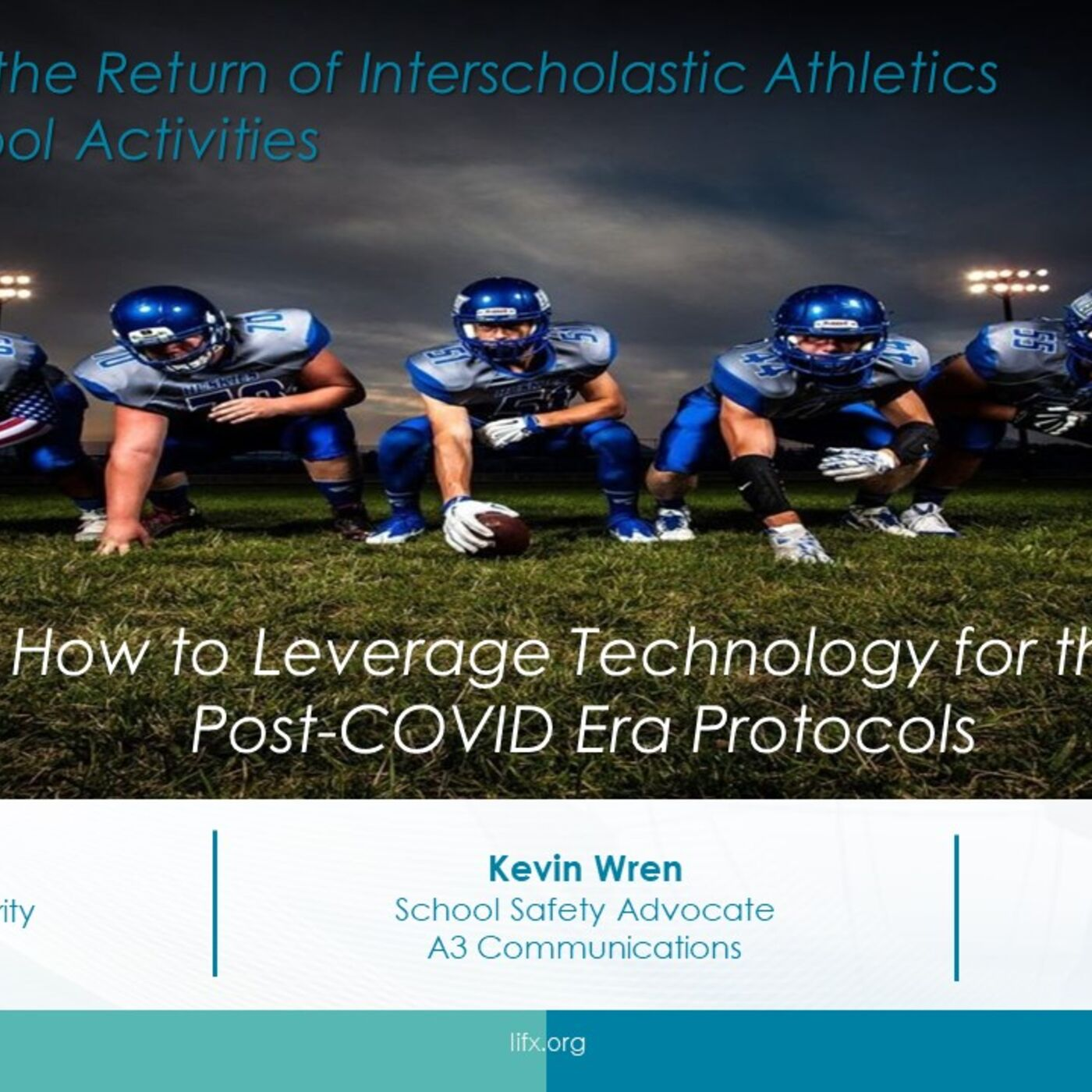 Session 3 - How to Leverage Technology for the Post COVID Era Protocols