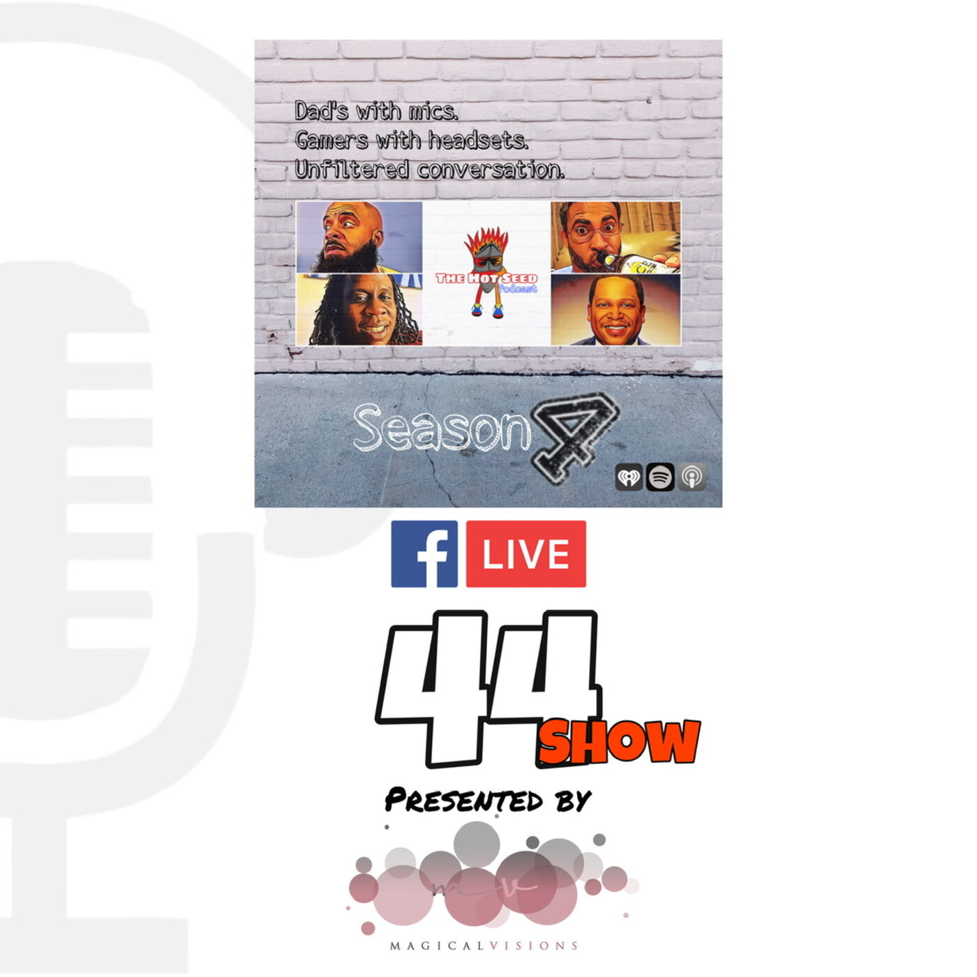 Ep.44 Facebook Live Stream presented by Magical Visions LLC