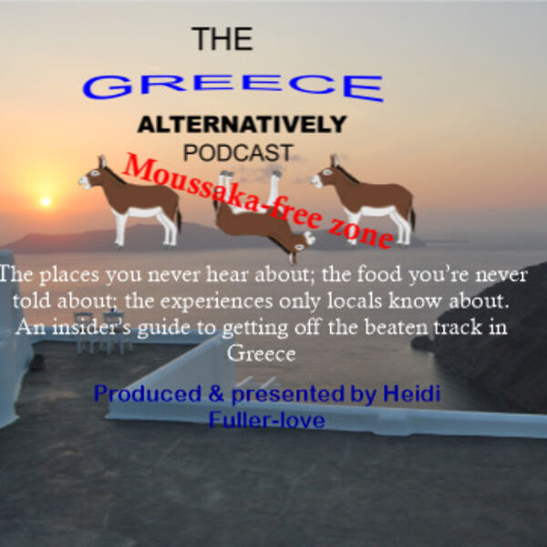 The Greece Alternatively podcast - This is a moussaka-free zone Podcast Artwork Image