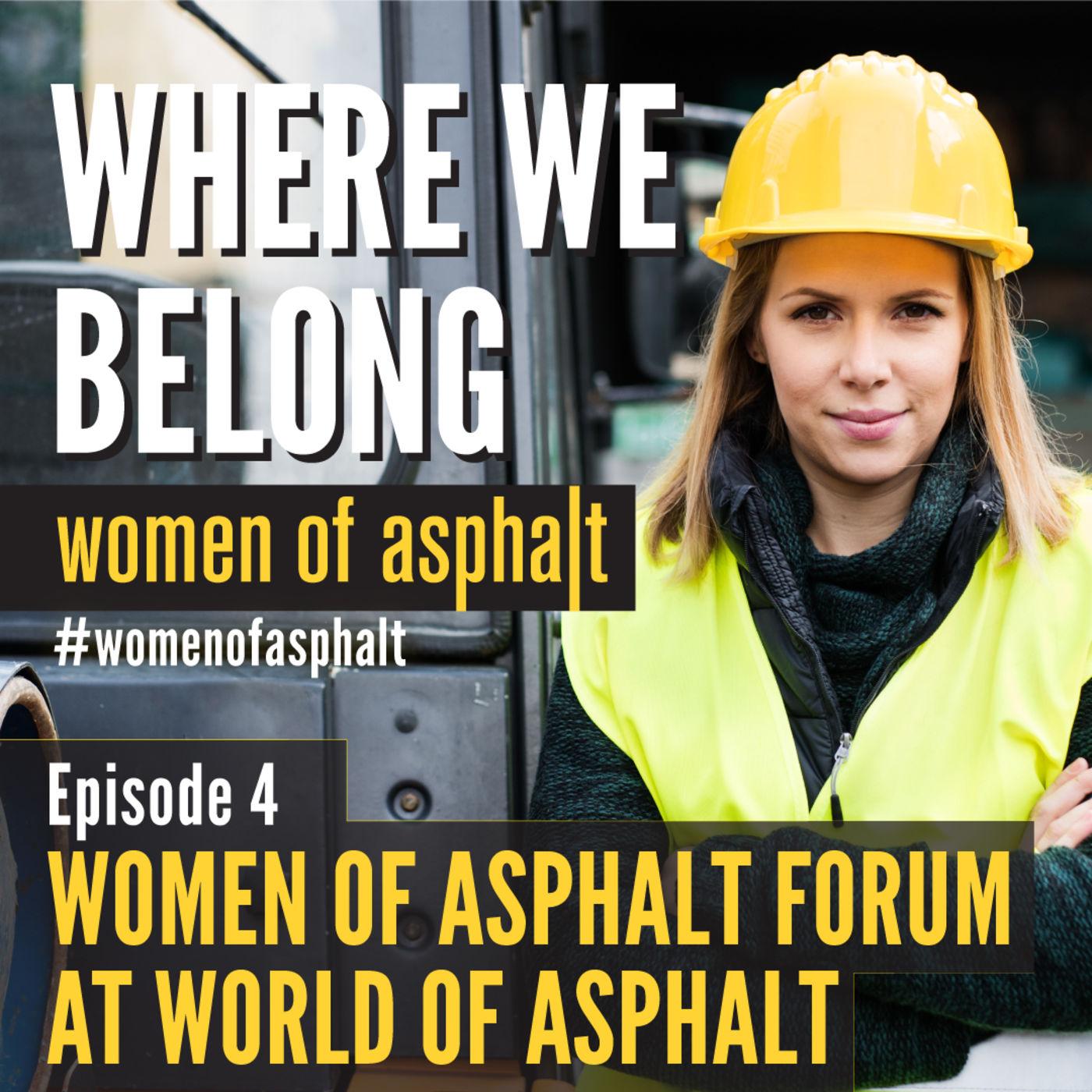 Women of Asphalt Forum at World of Asphalt 2019