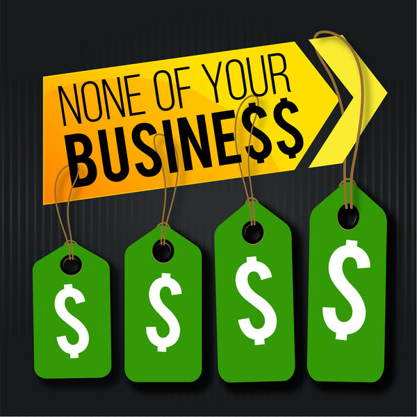 None Of Your Business Podcast Podcast Artwork Image