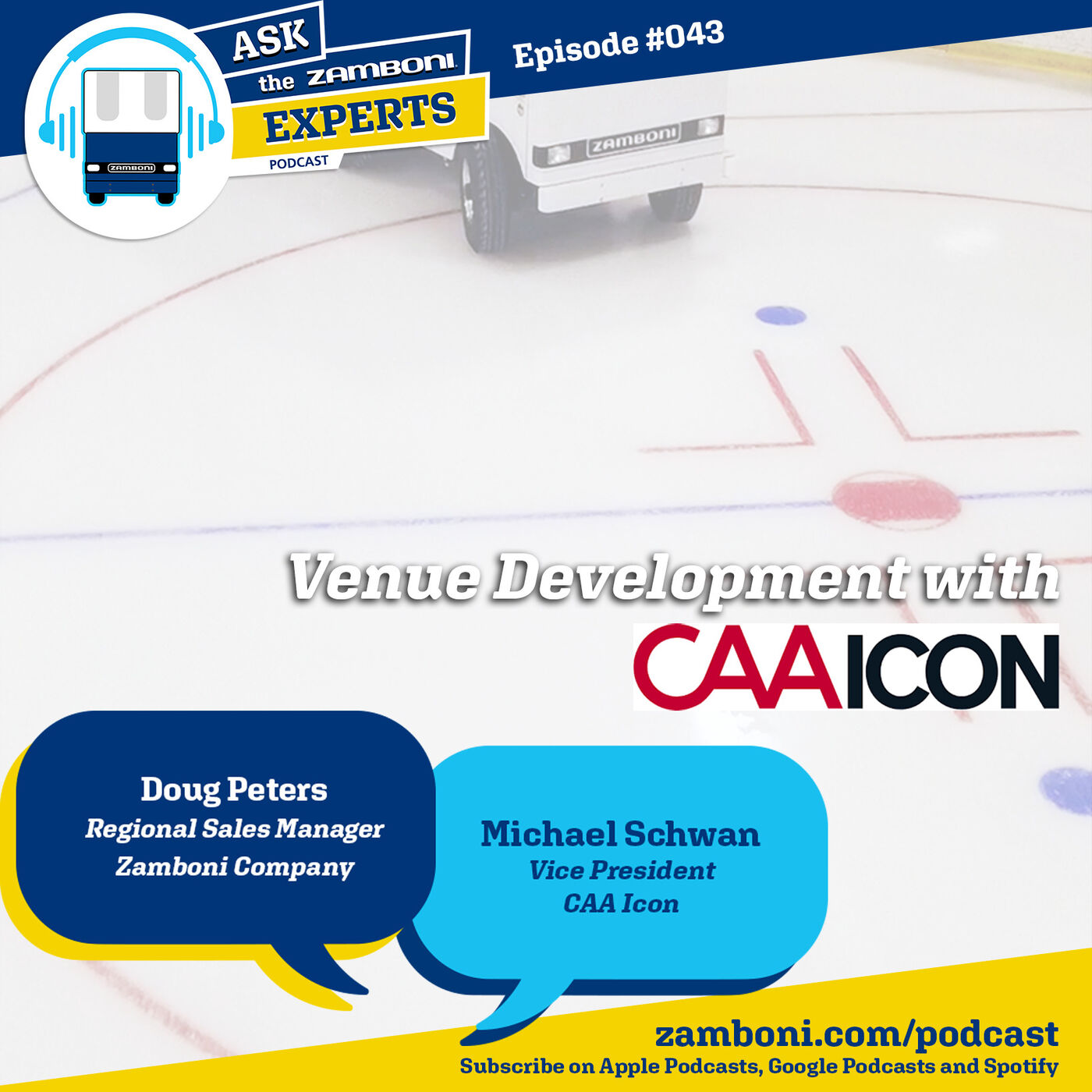 Episode #043: Venue Development with CAA ICON