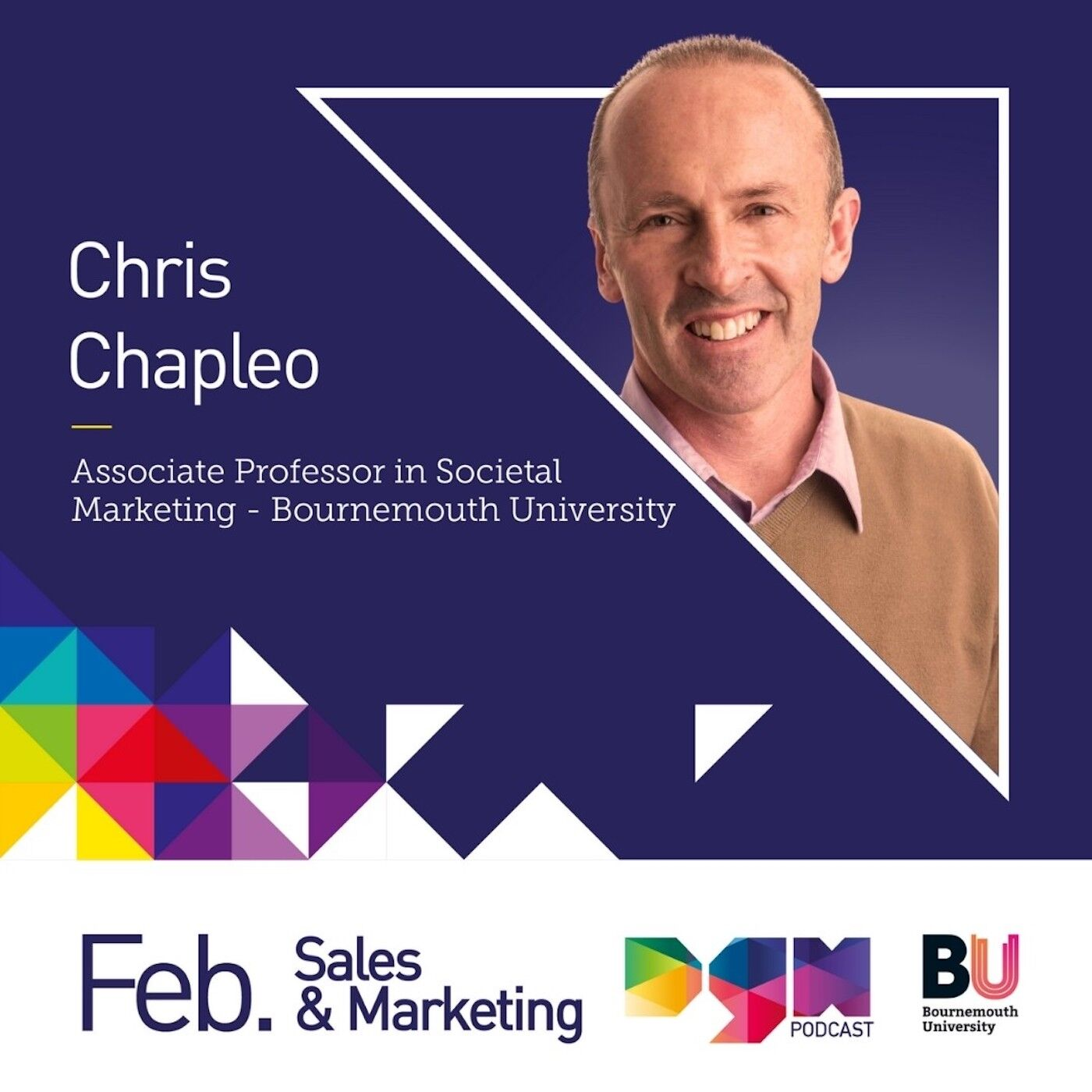 Building a trusted brand with Bournemouth University's Associate Professor, Dr Chris Chapleo #S2E2
